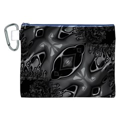 Melted Liquorish  Canvas Cosmetic Bag (XXL)