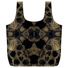 Golden Skulls  Reusable Bag (XL)