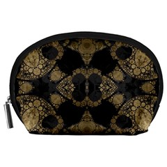 Golden Skulls  Accessory Pouch (Large)