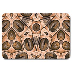 Chocolate Kisses Large Door Mat