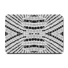 Insane Black&white Textured  Small Door Mat