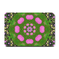 Pink Spearmint Bubble Gum  Small Door Mat