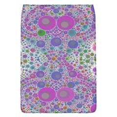Pink Purple Abstract  Removable Flap Cover (small)