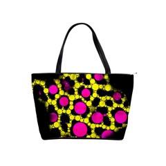 Ripped Grunge Cheetah Large Shoulder Bag
