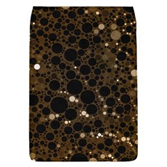Brown Cream Abstract  Removable Flap Cover (large)