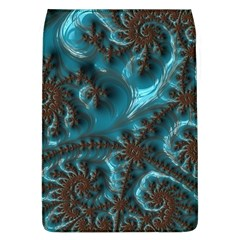 Glossy Turquoise  Removable Flap Cover (Large)