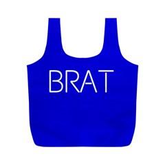 Brat Blue Reusable Bag (M)