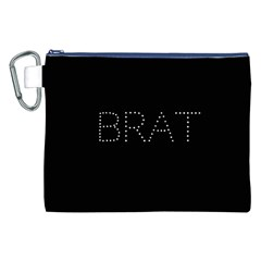 Brat Bling Canvas Cosmetic Bag (XXL)
