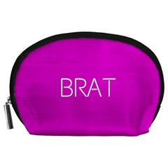 Brat Pink Accessory Pouch (Large)