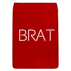 Brat Red Removable Flap Cover (large)