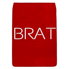 Brat Red Removable Flap Cover (small)