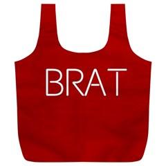 Brat Red Reusable Bag (xl)