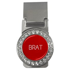 Brat Red Money Clip (cz)
