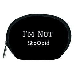 I m Not Stupid  Accessory Pouch (Medium)