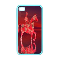 Riding At Dusk Apple Iphone 4 Case (color)