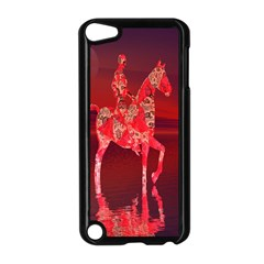 Riding At Dusk Apple iPod Touch 5 Case (Black)