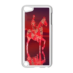 Riding At Dusk Apple Ipod Touch 5 Case (white)