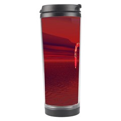 Riding At Dusk Travel Tumbler