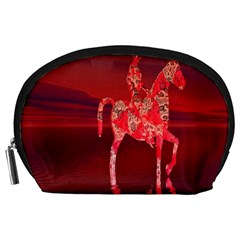 Riding At Dusk Accessory Pouch (Large)