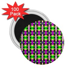 Pattern 2 25  Button Magnet (100 Pack)