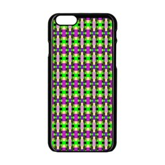 Pattern Apple iPhone 6 Black Enamel Case