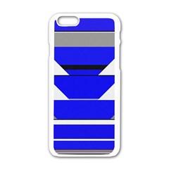 Pattern Apple iPhone 6 White Enamel Case