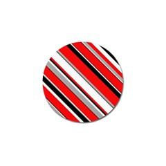 Pattern Golf Ball Marker 4 Pack