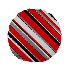 Pattern Standard Flano Round Cushion