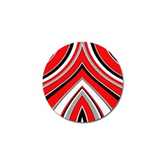 Pattern Golf Ball Marker 10 Pack