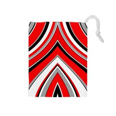 Pattern Drawstring Pouch (Medium)