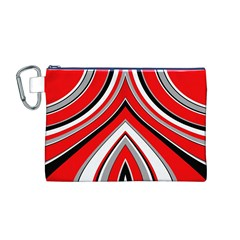 Pattern Canvas Cosmetic Bag (Medium)