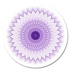 Mandala Magnet 5  (round)