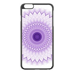 Mandala Apple Iphone 6 Plus Black Enamel Case
