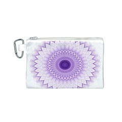 Mandala Canvas Cosmetic Bag (small)