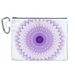 Mandala Canvas Cosmetic Bag (xl)