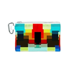 Pattern Canvas Cosmetic Bag (Small)