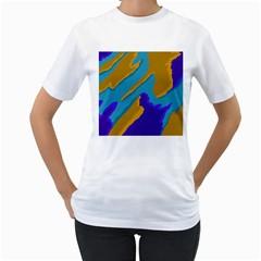 Pattern Women s T-Shirt (White)