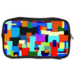 Pattern Travel Toiletry Bag (two Sides)