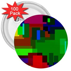 Pattern 3  Button (100 Pack)