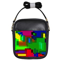 Pattern Girl s Sling Bag
