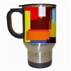 Pattern Travel Mug (white)