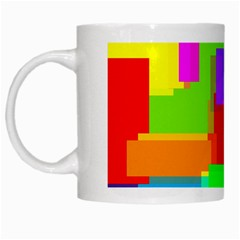 Pattern White Coffee Mug