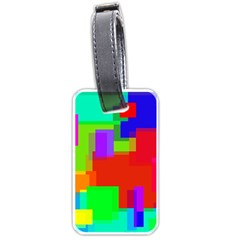 Pattern Luggage Tag (two Sides)