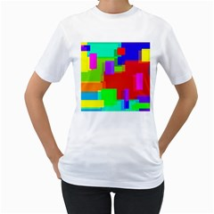 Pattern Women s T Shirt (white)