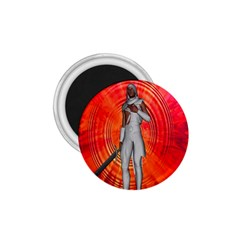 White Knight 1 75  Button Magnet