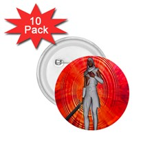 White Knight 1 75  Button (10 Pack)