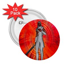 White Knight 2 25  Button (10 Pack)