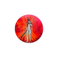 White Knight Golf Ball Marker