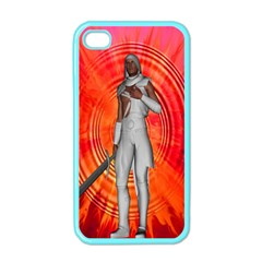 White Knight Apple Iphone 4 Case (color)