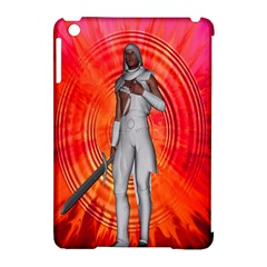 White Knight Apple Ipad Mini Hardshell Case (compatible With Smart Cover)